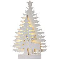 LED Weihnachtsbaum, 23cm, 2x AA, innen, warmweiß, Timer - Weihnachtsbeleuchtung