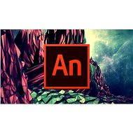 Adobe Animate Creative Cloud (Flash Pro) MP ML (inkl. CZ) Commercial (12 Monate) (elektronische Lizenz) - Grafiksoftware