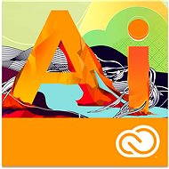Adobe Illustrator Creative Cloud MP ML (incl. CZ) Commercial (1 month) (Electronic License) - Electronic license