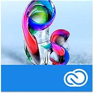 Adobe Photoshop Creative Cloud MP ML (incl. CZ) Commercial (12 months) RENEWAL (electronic license) - Electronic license
