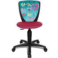 TOPSTAR S´COOL NIKI motiv srdce - Stuhl für Kinder