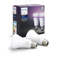 Philips Hue White and Color ambiance 10W E27 set 2ks - LED-Lampe