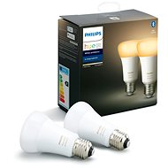 Philips Hue White Ambiance 9.5W A60 Set 2St - LED-Lampe