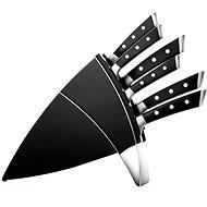 Tescoma AZZA Messer-Set mit einem Block und 6 Messern - Messer-Set