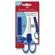 Faber-Castell Grip 13 cm blau - Schere