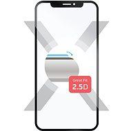 Fester Full-Cover für Nokia 3 schwarz - Schutzglas