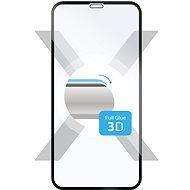 FIXED 3D Full-Cover für Apple iPhone X auf dem ganzen Display schwarz - Schutzglas
