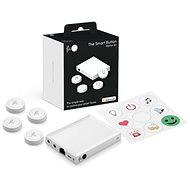 Flic 2 Starter Kit - 4x intelligente Bluetooth-Taste, Hub LR, Netzwerkadapter, Aufkleber - Detektor