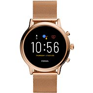 Fossil FTW6062 Gen5 Julianna HR 44mm Rose Gold Edelstahl Mesh - Smartwatch