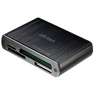 AKASA USB 3.0 Multi-Card-Reader AK-CR-08BK - Kartenleser