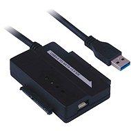 """PremiumCord - USB 3.0 zu IDE 40/44 Pin und SATA Konverter für 2.5 """"und 3.5"""" Geräte, Netzteil - Adapter"""