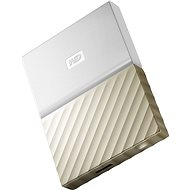 "WD 2.5"" My Passport Ultra Metal 4TB Weiß/Gold - Externe Festplatte"