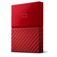 "WD 2.5"" My Passport 2TB Rot - Externe Festplatte"