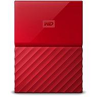 WD My Passport 2 TB USB 3.0 rot - Externe Festplatte
