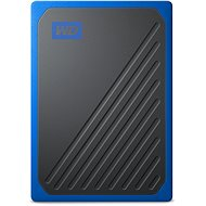 WD My Passport GO SSD 1TB Blau - Externe Festplatte