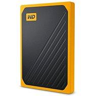 WD My Passport GO SSD 2 TB gelb - Externe Festplatte