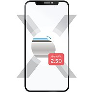 FIXED für Huawei Y7 Prime (2018) schwarz - Schutzglas