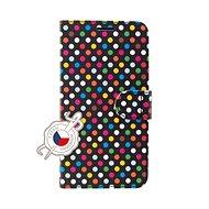 FIXED FIT für Samsung Galaxy A70 Motiv Rainbow Dots