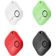 FIXED Smile 4-PACK schwarz / weiß / rot / grün - Bluetooth-Chip-Lokalisierung