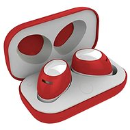 CELLY TWINS AIR RED - Kopfhörer mit Mikrofon