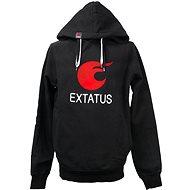 eXtatus mikina bez sponzorů černá L - Sweatshirt