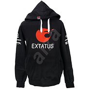 eXtatus Sweatshirt mit Sponsoraufdruck - schwarz - Sweatshirt