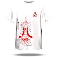 Atari T-Shirt – Iconic Joystick Blueprint - T-Shirt
