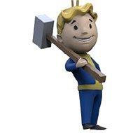 Fallout Vault Boy 3D - Melee - Schlüsselanhänger - Anhänger