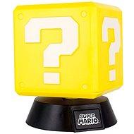 NINTENDO - 3D-Lampe Super Mario Fragenblock - Leuchte