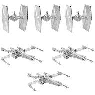 Star Wars - Silberdekorationen (6x) - Weihnachtsdekorationen