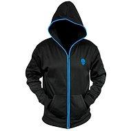 Dell Alienware Zip-Glow Hoodie Schwarz - Sweatshirt