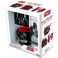 Star Wars Vader Set - Becher, Tablett, Glas - Geschenkset