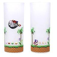 Sonic & Eggman - 2 Gläser - Gläser für kalte Getränke