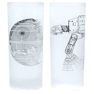 Todesstern & AT-AT Walker - 2 Gläser - Gläser für kalte Getränke