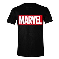 Marvel Box Logo - T-Shirt L - T-Shirt