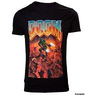 DOOM Classic Box Art - T-Shirt M - T-Shirt