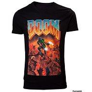 DOOM Classic Box Art - T-Shirt - T-Shirt