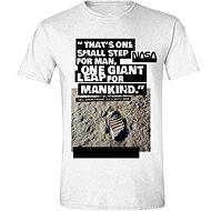 NASA Foot Print On The Moon - T-Shirt - T-Shirt
