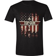 Top Gun: Distressed Flag - T-Shirt M - T-Shirt