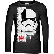 Star Wars: Trooper Mask - T-Shirt mit langen Ärmeln XL - T-Shirt