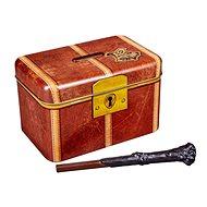 Harry Potter Hogwarts - eine Schatztruhe mit einem Zauberstab - Sparbüchse