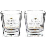 Game of Thrones - All Men Must Die - 2 Gläser - Whiskeygläser