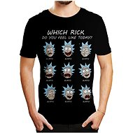 Rick and Morty - Emotions - T-Shirt - T-Shirt