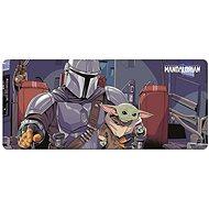 Star Wars - Der Mandalorianer - Spielmatte auf dem Tisch - Maus- und Tastatur-Unterlage