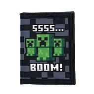 Minecraft - SSSS BOOM - Geldbeutel - Brieftasche