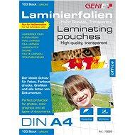 GENIE A4 80 Mikron - 100 Stück - Laminierfolie