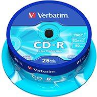 Verbatim CD-R DataLife Extra Protection - Schreibgeschwindigkeit 52x, Spindel mit 25 Stück