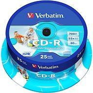 Verbatim CD-R DataLife Protection 52x Printable 25 Stück Spindel