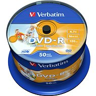 Verbatim DVD-R 16x Druckbare 50pcs cakebox