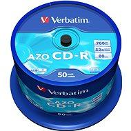 VERBATIM CD-R 80 52x CRYSTAL - 50 Stück (Spindel)